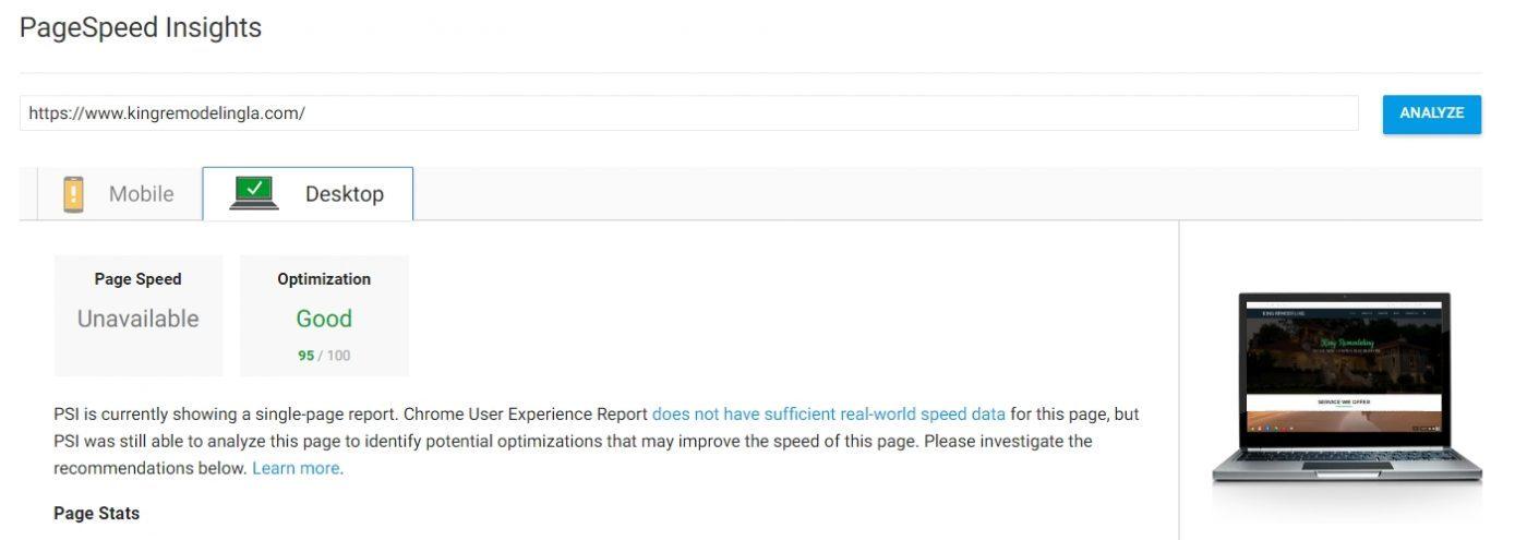After: Speedup WordPress