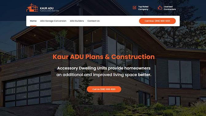 Kaur ADU Plans & Construction