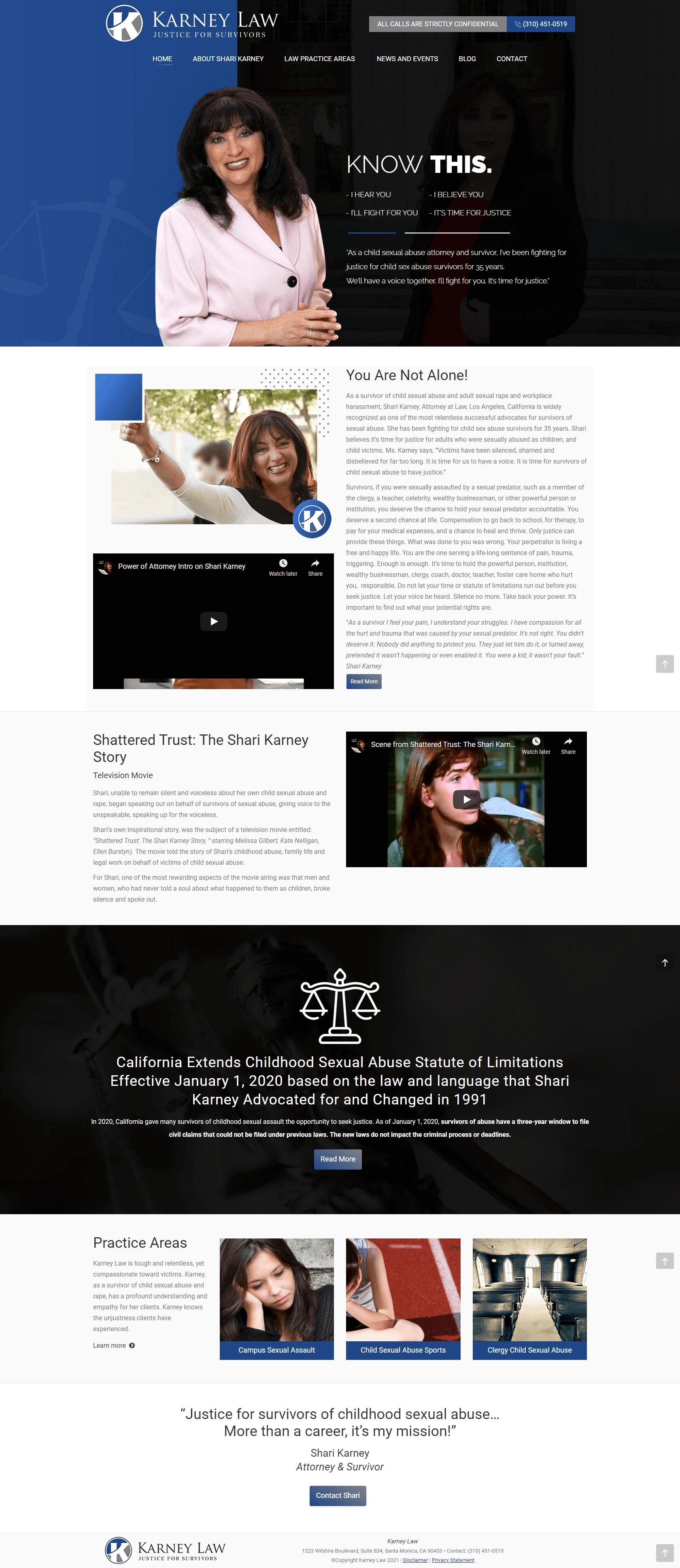 Karney-Law Site